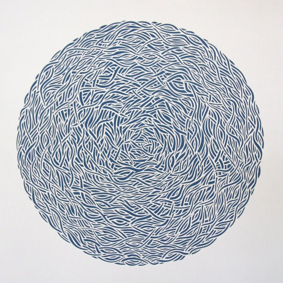 Nest 2, White Papercut