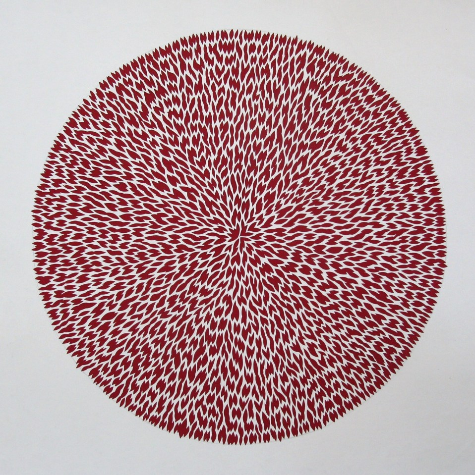 Bloom, White Papercut