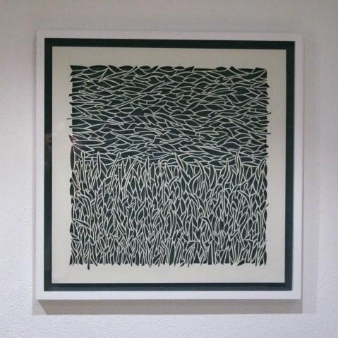 The Field 1, White Papercut