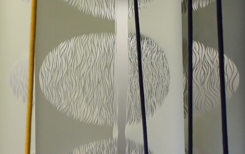 Resonance, Papercut, 6 x 320cm x 100cm, 2015