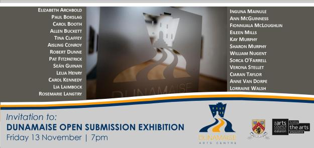 Dunamaise Annual Open Submission Exhibition 2015