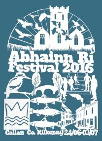 Abhainn Rí Festival Poster 2016