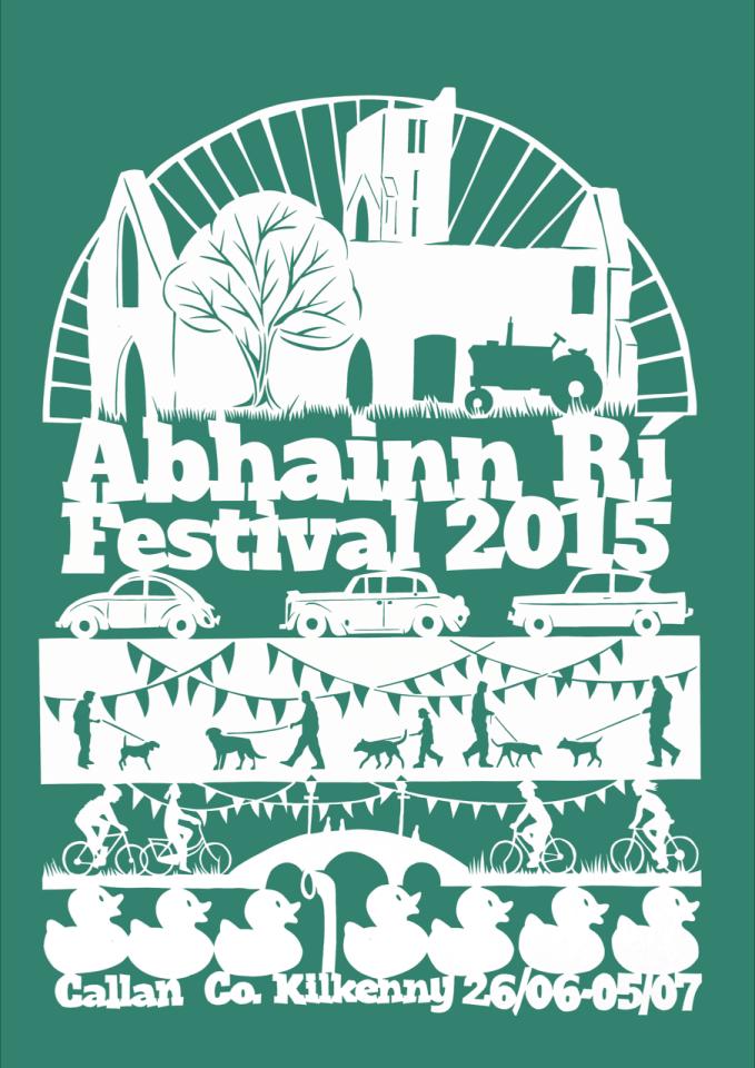 Abhainn Rí Festival Poster 2015
