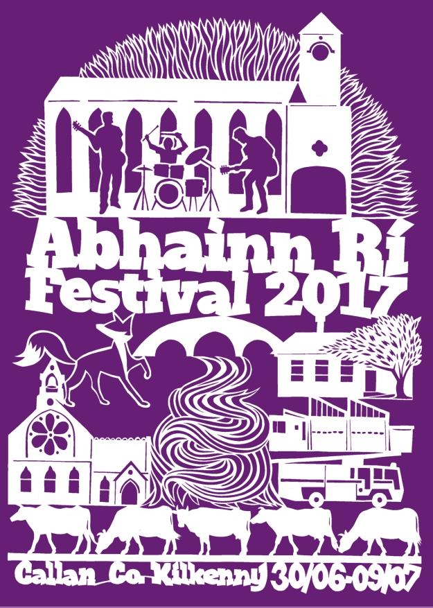 Abhainn Ri Festival Poster 2017