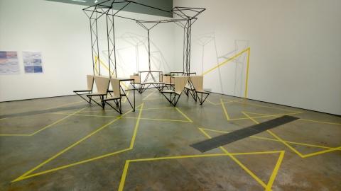 VISUAL Centre for Contemporary Art, Studio Gallery Installation