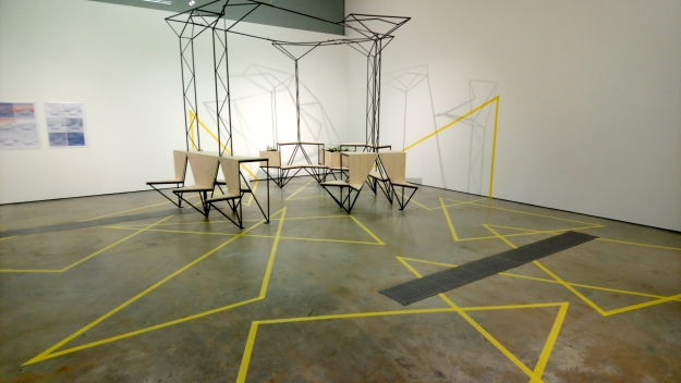 VISUAL Centre for Contemporary Art, Studio Gallery Installation