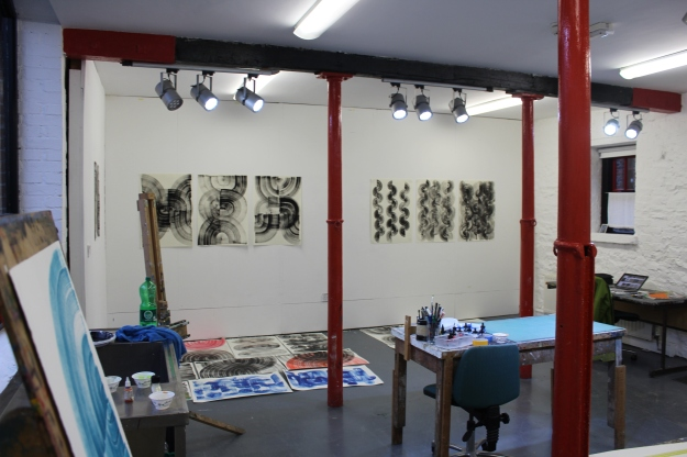 Studio 3 at the Tyrone Guthrie Centre in Annaghmakerrig