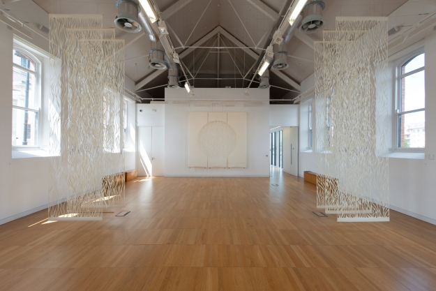 Papercut Installation, Other Dimensions, Luan Gallery, Athlone